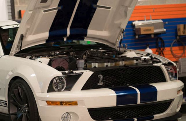 Shelby Ford Mustang Throttle Response Tuning